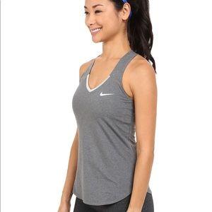 Nike court pure tank (Gray)